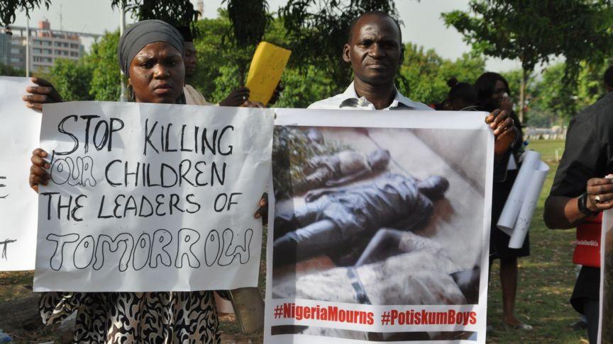Nigeria-Unrest-Protest